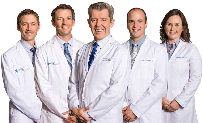 Drs. Parschauer, Finley, Freisbery, and Cooper
